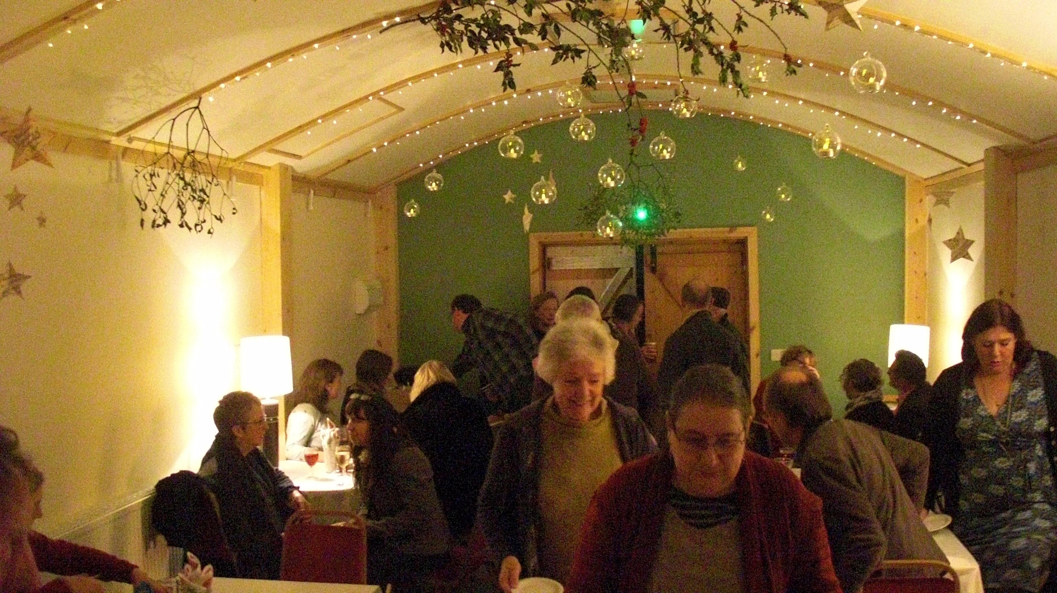 Event room Christmas Tapas