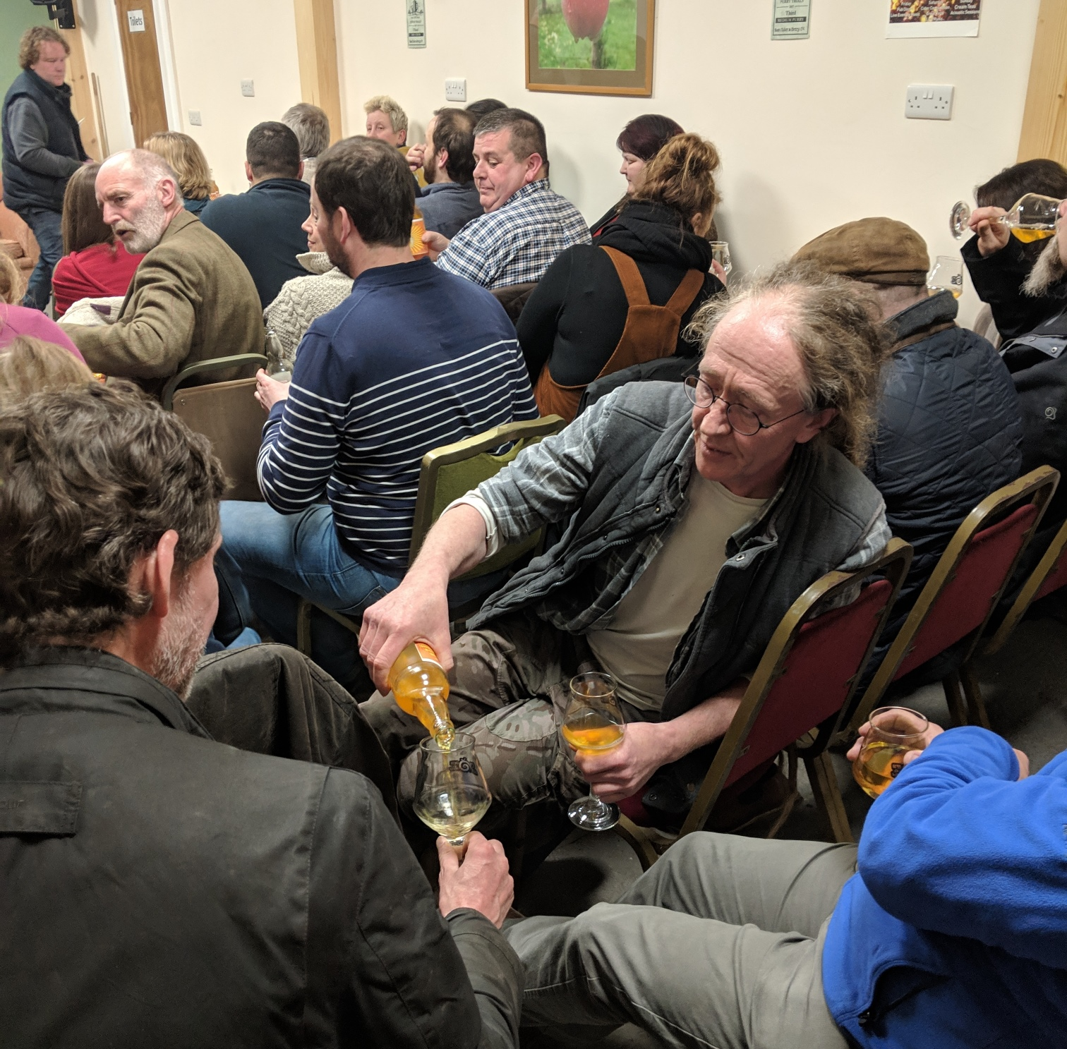 Even Cidermakers come to Cider Club!
